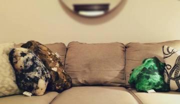 Custom Rock Pillows