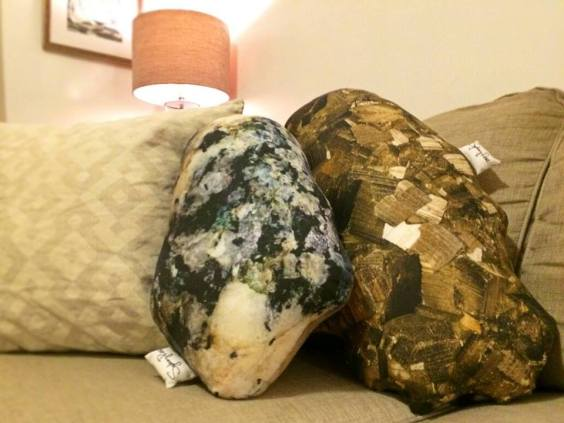 Custom Rock Pillow