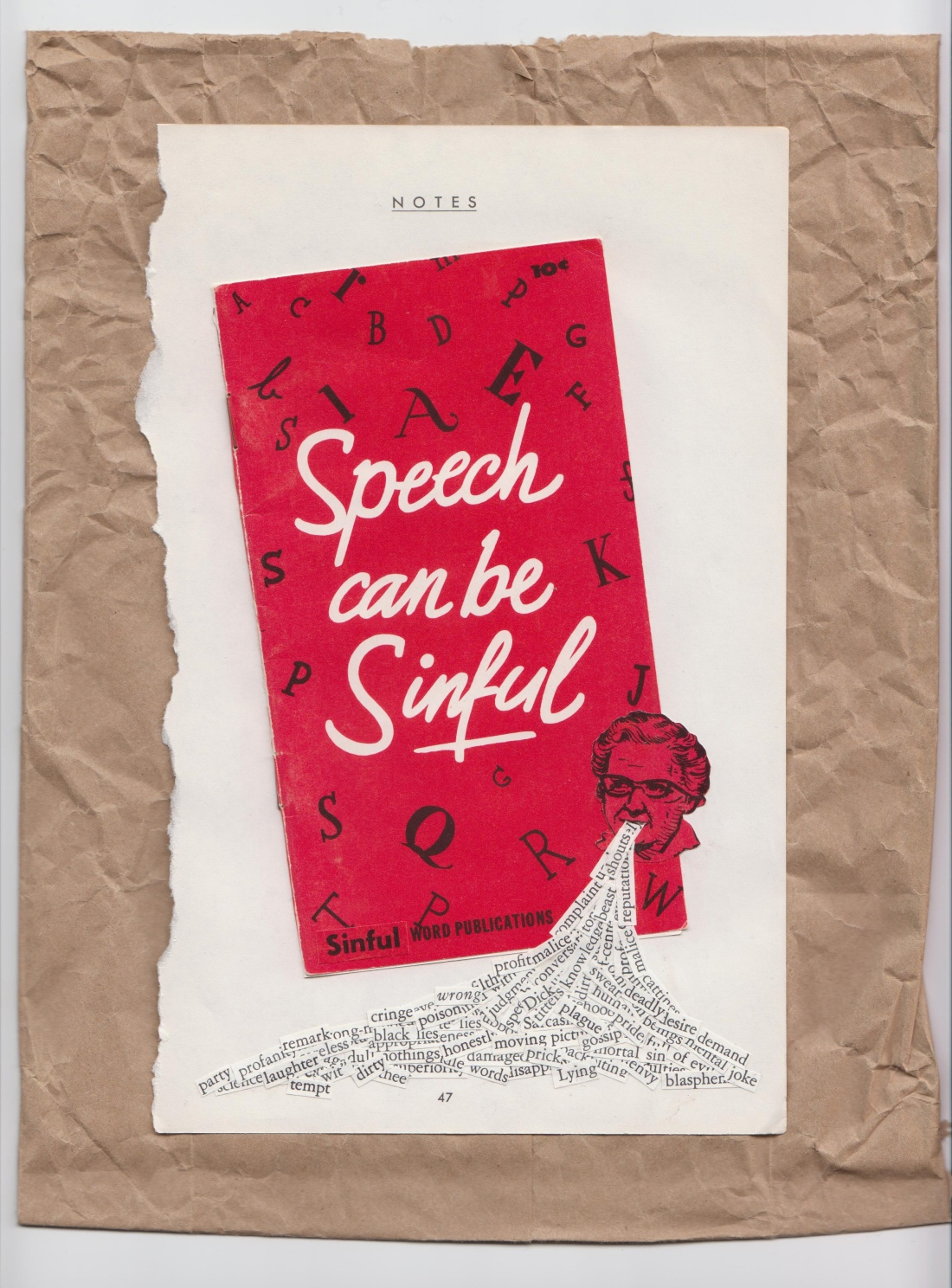 Speech Can Be Sinful