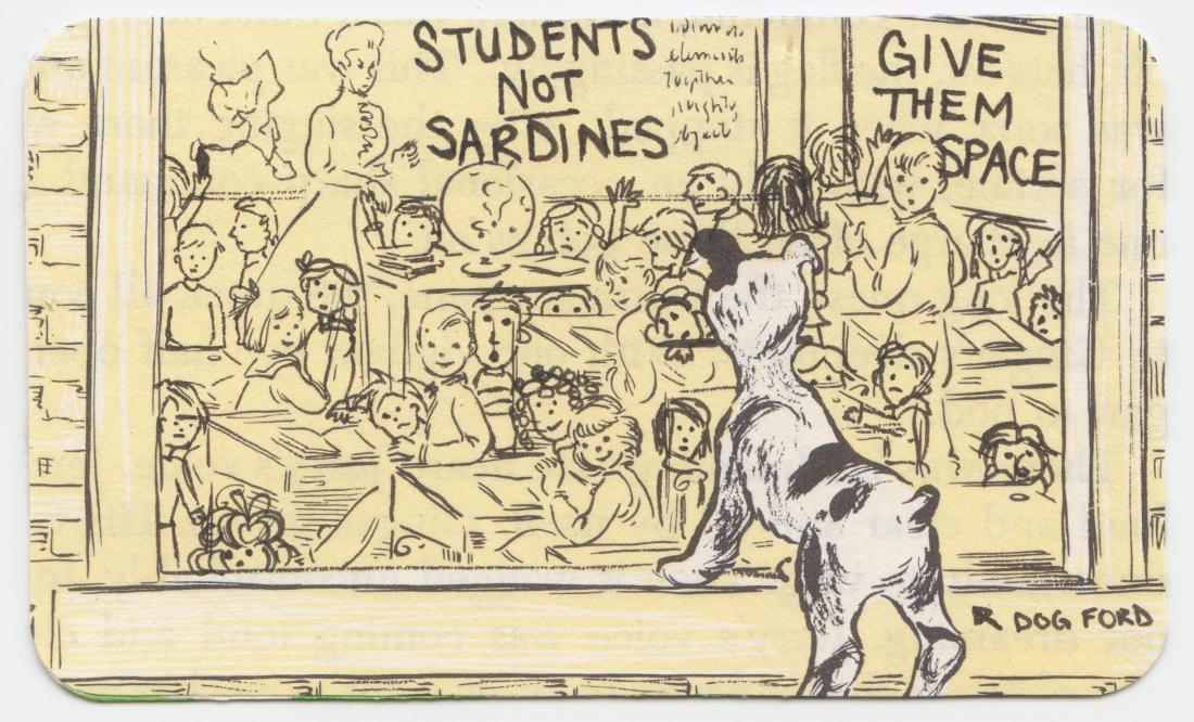 Students Not Sardines